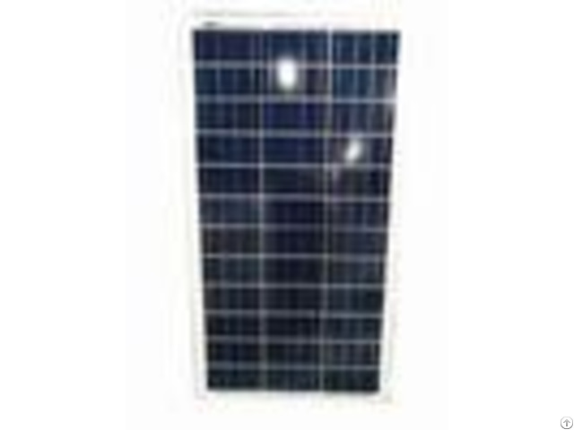 Residential 130w Polycrystalline Solar Panel 18v High Transmittance Glass