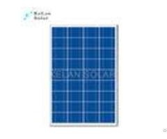 80w Home Multicrystalline Solar Panelsblack Frames Boost Bearing Capability