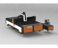 Advertising Metal Fiber Laser Cutting Machine Small Size 1070nm Wavelength