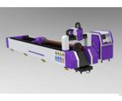 Linear Guide Drive Cnc Laser Pipe Cutting Machine For Copper Titanium