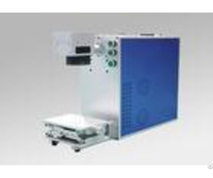 High Speed Portable Fiber Laser Marking Machine 20w 30w 50w For Metal