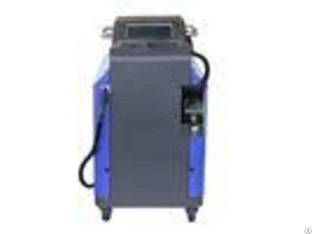 Industrial 100w Pulsed Laser Cleaning Machine Forced Air Cooling System