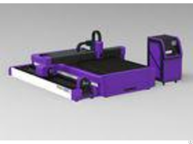 Industrial Metal Pipe Laser Cutting Machine Electric Driven Drawer Style Tray