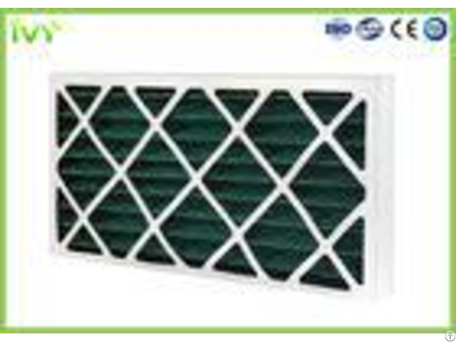 G4 Pleated Replacement Air Filter 45pa Initial Pressure Drop With Cardboard Frame