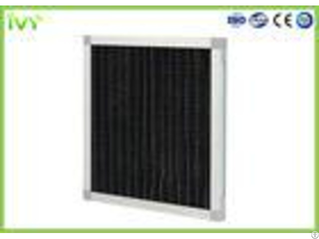 Pleated Activated Carbon Air Filter Max Operating Temperature 70c High Efficiency