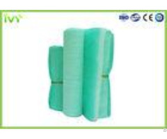 Fiberglass Paint Booth Air Filter Media 50mm 100mm Thickness 1m Porosity