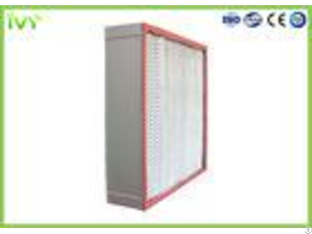 High Temp Resistance Hepa Air Filter Sturdy Construction For Clean Room