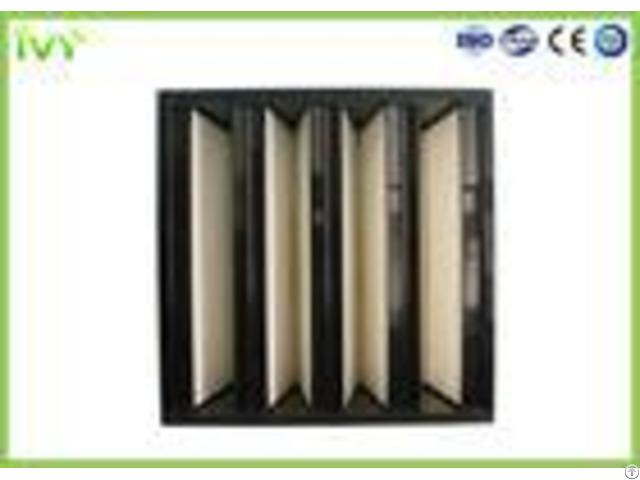Compact Mini Pleated Panel Air Filters Portable Hepa Filter 0 3um Porosity