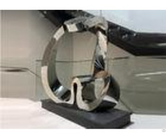 Abstract Heart Shaped Outdoor Metal Sculpture Modern Oem Odm Available