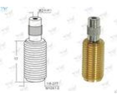 All Threaded Adjustable Cable Grippers Raw Brass Material With Security Head
