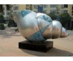 Conch Design Contemporary Metal Garden Sculptures Excellent Corrosion Resistance