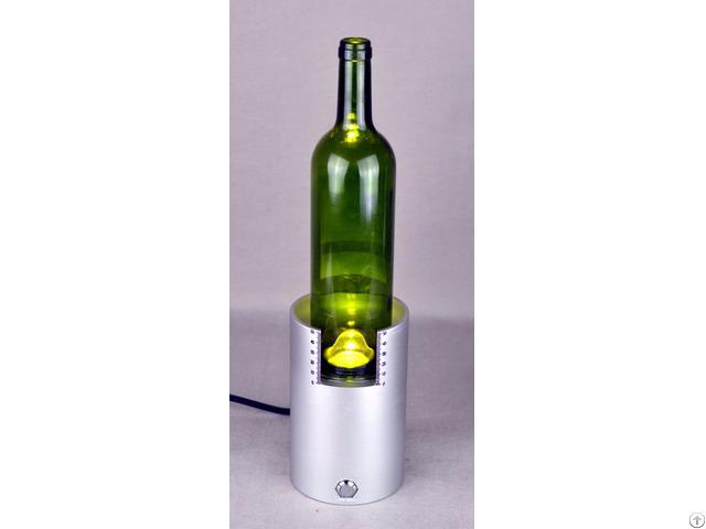 Dome Height Lightening System For Glass Bottle
