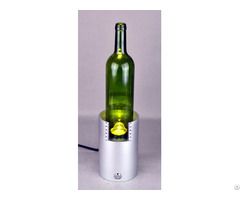 Dome Height Lightening System For Glass Bottle