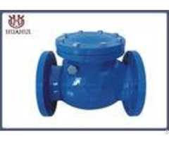 Dn50 Ductile Iron Flanged Check Valve Swing Type Brass Seat Din Standard