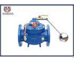 Ggg50 Body Float Control Valve Automatic Blue Color Iso9001 Cetification