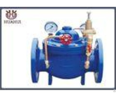 Double Flange Water Pressure Reducing Valve With Two Gauge Hydraulically Operated