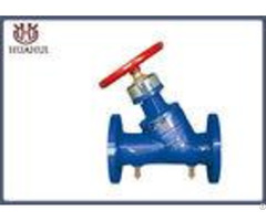 Spf Double Flange Flow Balancing Valve Digital Lock Energy Saving For Pipeline