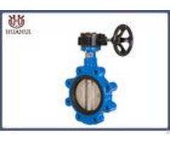 Ductile Iron Wafer Butterfly Valve Epdm Seat Ss304 Disc For Water System