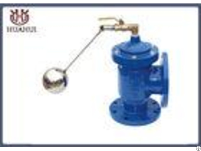Angle Type Hydraulic Control Valve Dn50 Ss420 Stem Corrosion Resistance