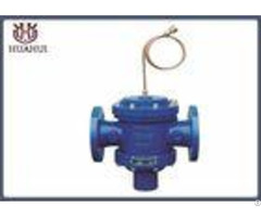 Brass Pipe Pressure Balanced Control Valve Dn65 Pn16 Ggg50 Body Blue Color