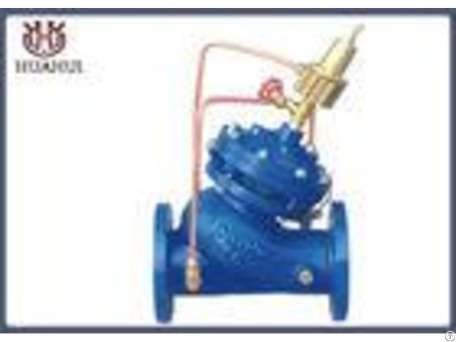 Di Body 2 Inch Control Valve Reducing Pressure For Water Iso9001 Certification