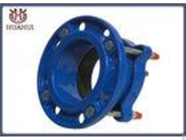 Pe Pipe Stainless Steel Flexible Joint Ductile Iron Flange 12 Inch Epoxy Powder Coating