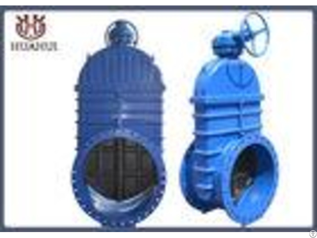 Water Pipe Line Resilient Seated Gate Valve With Pn10 Working Pressure
