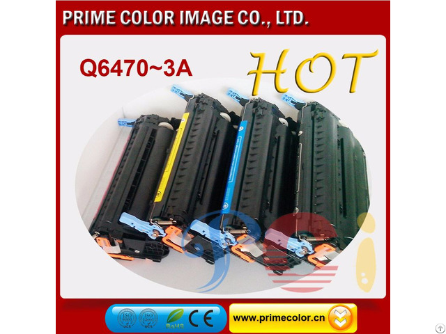Color Toner Cartridges For Hp Q6470 3a Can Crg 711 Reman With Chip