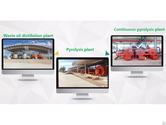 Continuou Waste Plastic Pyrolysis Plant
