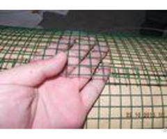 Dark Green Welded Wire Mesh Electro Galvanized Steel Grid Surface Passivation Construction