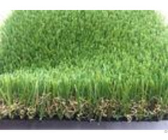 Real Looking Luxury Artificial Grass Garden Uv Resistant 40mm Sgs Approved