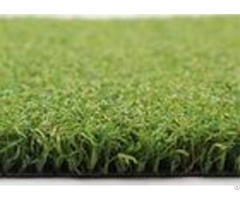 Uv Resistant Artificial Grass For Tennis Courts Fireproof Green Pp Curled Yarn