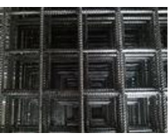 2x2 Concrete Welded Wire Mesh Panels For Construction Withhot Dips Galvanized