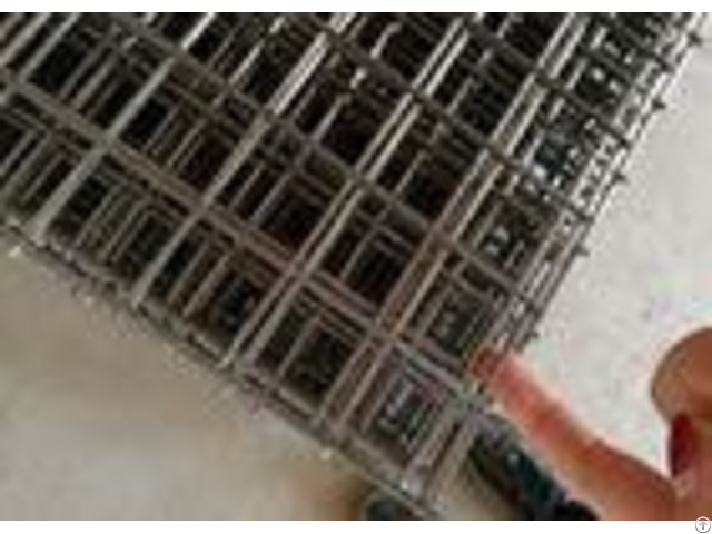 Black Annealed 1x2 Steel Bar Iron Welded Wire Mesh Panels Building
