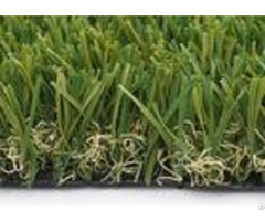 Customized W Shape Artificial Grass Garden 40mm 14700 Density Synthetic