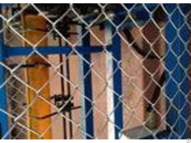 Hot Dipped Chain Link Panels Farm Fence Electro Galvanized Backyard Diamond Mesh