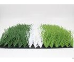 High Density 50mm Soccer Field Artificial Turf Non Abrasive Uv Resistance