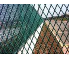 Powder Coating Expanded Metal Screen Steel Mesh Sheet For Building