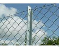 6ft Galvanized Iron Wire Chain Link Fence Backyard Zinc Coating