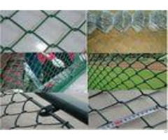 Q195 Portable 2 5mm Thicks Chain Link Fence 2x2 Colored Galvanized Pvc Coated Diamond