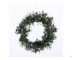 Faux Olive Wreath