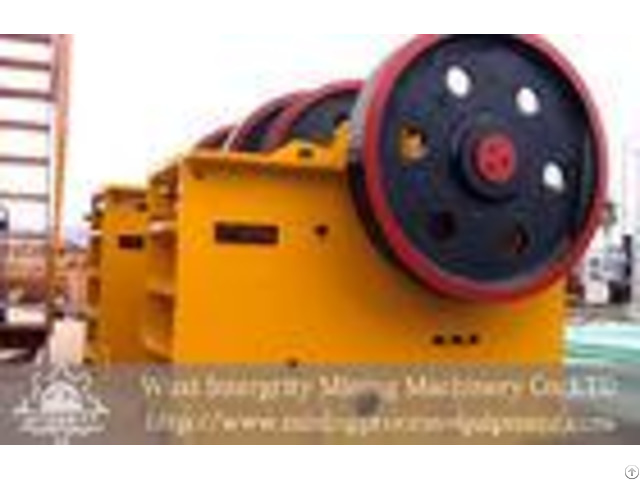 Mining Jaw Crusher Granite Mineral Beneficiation Process Industrial