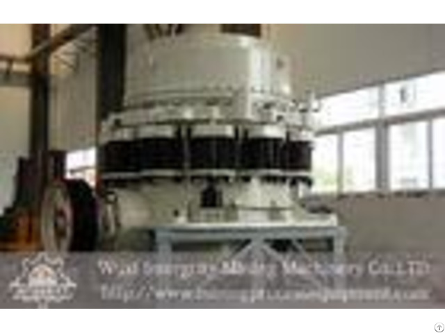 Limestone Spring Cone Mining Crusher Equipment Larger Capacity