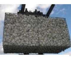 Durable Hexagonal Gabion Basket With Hot Dipped Galvanized For Retaining Stone
