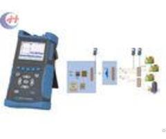 Long Battery Operation Av6416 Palm Otdr With Powerful File Management