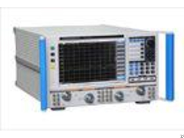 High Performance Microprocessor Chip Vector Network Analyzer Full Two Port Calibration