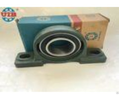 Uc208 Industrial Insert Ball Bearings With P208 Cast Iron Green Gray Bearing Housing