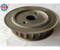 Zinc Plated Transmission Components Galvanised Timing Belt Pulley 15 55 48mm