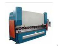 Sheet Metal Press Brake Machine 2 Axes 100ton X 2500 With Hydraulic Electric Control