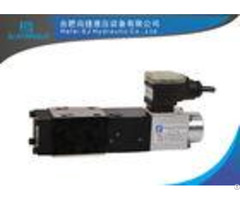 Durable Hydraulic Proportional Valve Pilot Operated With Integral Remote Pressure Transducer
